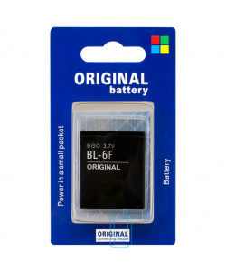 Аккумулятор Nokia BL-6F 1200 mAh N95, N78, N79 AA/High Copy блистер