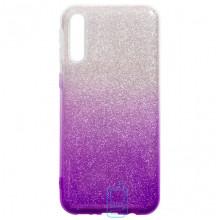 Чехол силиконовый Shine Samsung A50 2019 A505 градиент фиолетовый