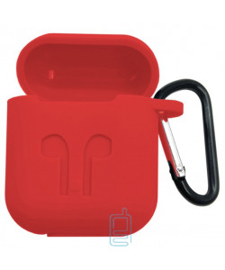 Футляр для наушников Airpod Full Case красный