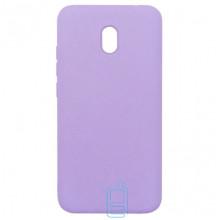 Чехол Silicone Cover Full Xiaomi Redmi 8A сиреневый