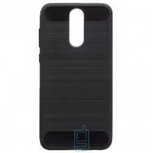 Чехол силиконовый Polished Carbon Huawei Mate 10 Lite черный
