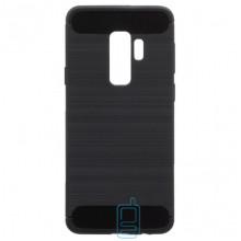 Чехол силиконовый Polished Carbon Samsung S9 Plus G965 черный