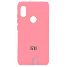Чехол Silicone Case Full Xiaomi Mi6X, Mi A2 розовый