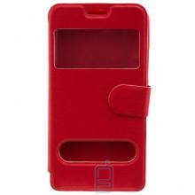 Чехол-книжка два окна Lenovo S60 красный