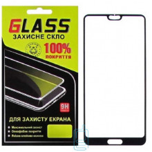 Защитное стекло Full Glue Huawei P20 Pro black Glass