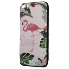 Чехол Creative TPU+PC Apple iPhone 7, 8 Flamingo