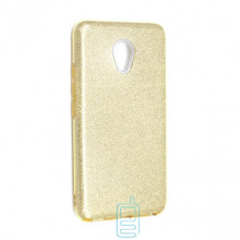 Чехол силиконовый Shine Meizu M5c золотистый