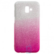 Чехол силиконовый Shine Samsung J6 Plus 2018 J610 градиент розовый