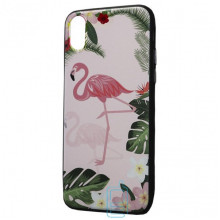 Чехол Creative TPU+PC Apple iPhone X, XS Flamingo