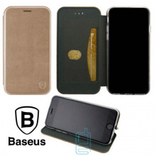 Чехол-книжка Baseus Premium Edge Xiaomi Mi 9 розово-золотистый
