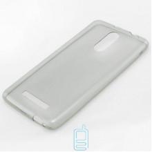Чехол силиконовый Slim Xiaomi Redmi Note 3, Note 3 Pro затемненный