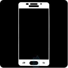 Защитное стекло Full Glue Samsung A5 2016 A510 white тех.пакет