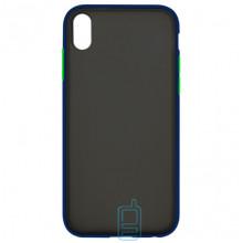Чехол Goospery Case Apple iPhone XR синий