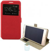 Чехол-книжка Modern 1 окно Huawei Y6 II красный