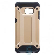 Чехол-накладка Motomo X5 Samsung S7 Edge G935 золотистый