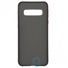 Чехол Goospery Case Samsung S10 Plus G975 черно-красный
