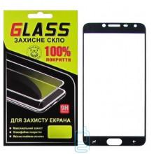 Защитное стекло Full Glue Samsung J4 2018 J400 black Glass