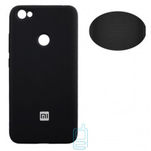 Чехол Silicone Cover Full Xiaomi Redmi Note 5A, Redmi Note 5A Prime, Redmi Y1 черный