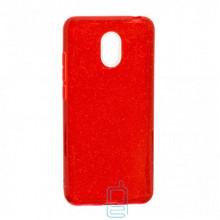 Чехол силиконовый Shine Meizu M6 красный