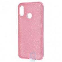 Чехол силиконовый Shine Huawei P20 Lite, Nova 3e розовый