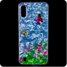 Cиликон Garden Samsung M10 2019 M105 бабочки