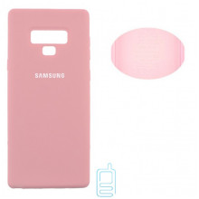 Чехол Silicone Cover Full Samsung Note 9 N960 розовый