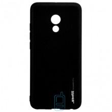 Чехол силиконовый SMTT Meizu Pro 6, Pro 6S черный