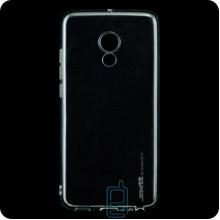 Чехол силиконовый SMTT Meizu Pro 6, Pro 6S прозрачный