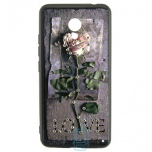 Чехол накладка Flower Case Meizu M5c Love Rose