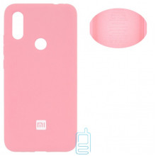 Чехол Silicone Cover Full Xiaomi Redmi 7 розовый