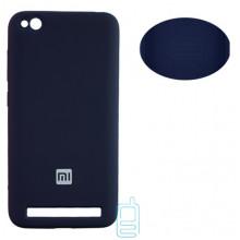 Чехол Silicone Cover Full Xiaomi Redmi 5A синий