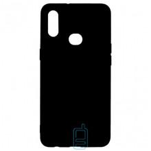Чехол Silicone Cover Full Samsung A10s 2019 A107 черный