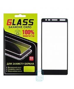 Защитное стекло Full Glue Nokia 3.1 black Glass