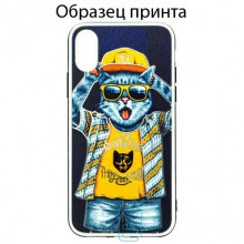 Чехол Fashion Mix Apple iPhone XR Cat