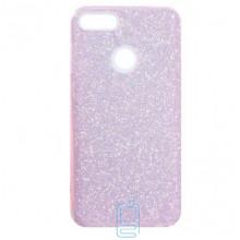 Чехол силиконовый Shine Huawei P Smart розовый