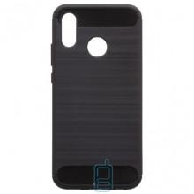 Чехол силиконовый Polished Carbon Huawei P Smart Plus, Nova 3i черный