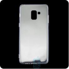 Чехол силиконовый SMTT Samsung A8 2018 A530 прозрачный