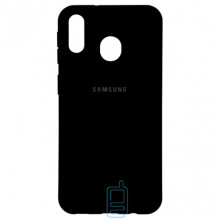 Чехол Silicone Case Full Samsung M20 2019 M205 черный