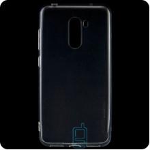 Чехол силиконовый SMTT Xiaomi Pocophone F1 прозрачный