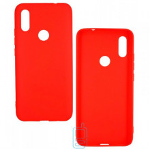 Чехол силиконовый SMTT Xiaomi Redmi 7A красный