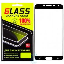 Защитное стекло Full Screen Samsung J4 2018 J400 black Glass