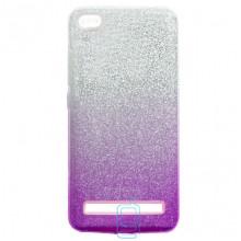 Чехол силиконовый Shine Xiaomi Redmi 5A градиент фиолетовый