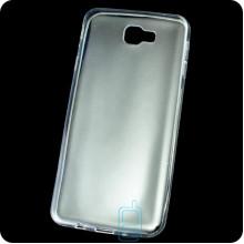 Чехол силиконовый Slim Samsung J7 Prime G610 прозрачный