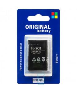 Аккумулятор Nokia BL-5CB 800 mAh 105, 109, 111, 113 AA/High Copy блистер