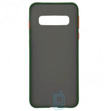 Чехол Goospery Case Samsung S10 G973 зеленый