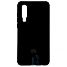 Чехол Silicone Case Full Huawei P30 черный