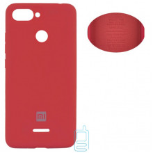Чехол Silicone Cover Full Xiaomi Redmi 6 красный