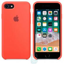 Чехол Silicone Case Apple iPhone 6, 6S светло-оранжевый 02