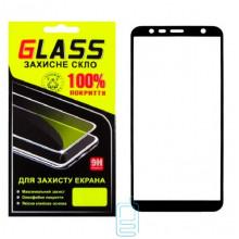 Защитное стекло Full Screen Samsung J4 Plus 2018 J415, J6 Plus 2018 J610 black Glass