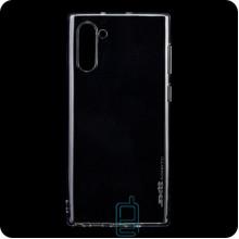 Чехол силиконовый SMTT Samsung Note 10 N970 прозрачный